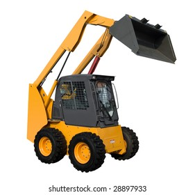 Mini Loader Isolated Rough Mover Dirtwork the Machinery