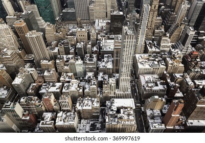 A New York aerial view.