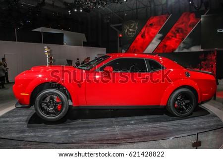 NEW YORK APRIL Dodge Stock Photo Edit Now - Dodge car show 2018