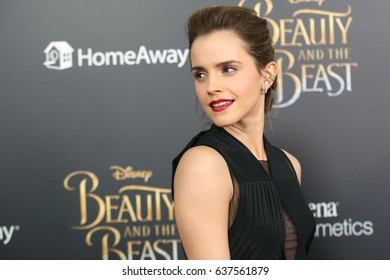 "NEW YORK - April 13, 2017:  Emma Watson attends the premiere of ""Beauty and the Beast"" at Alice Tully Hall on April 13, 2017, in New York City."