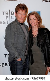 """NEW YORK - APRIL 20: Denis and Ann Leary attend the opening night premiere of """"The Union"""" at the 2011 TriBeCa Film Festival at World Financial Center Plaza on April 20, 2011 in New York City."""