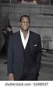 NEW YORK - APRIL 20: Geoffrey Fletcher arrives at Vanity Fair Party at Tribeca Film Festival on April 20, 2010 in New York City.
