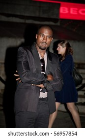 NEW YORK - APRIL 21: Rapper Kanye West attends the Vanity Fair party for the 2009 Tribeca Film Festival at the State Supreme Courthouse on April 21, 2009 in New York