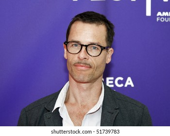 NEW YORK - APRIL 24: Actor Guy Pearce attends the Panel Discussion of ''Memento'' during the  2010 Tribeca Film Festival at the SVA Theater on April 24, 2010 in New York City.