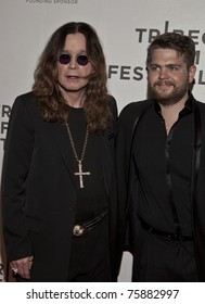 NEW YORK - APRIL 24: Ozzy and Jack Osbourne attend the premiere of 'God Bless Ozzy Osbourne' during the 10th annual Tribeca Film Festival on April 24, 2011 in New York City