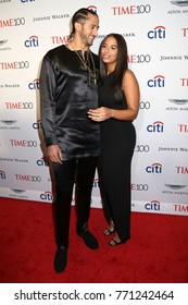 NEW YORK - APRIL 25, 2017: Colin Kaepernick and Nessa attend the Time 100 Gala on April 25, 2017, in New York City.