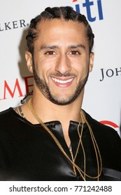 NEW YORK - APRIL 25, 2017: Colin Kaepernick attends the Time 100 Gala on April 25, 2017, in New York City.