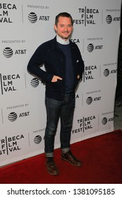NEW YORK, NEW YORK - APRIL 25: Elijah Wood attends the 'Come To Daddy' screening at the 2019 Tribeca Film Festival at SVA Theater on April 25, 2019 in New York City.