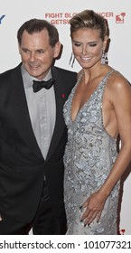 NEW YORK - APRIL 26: Bernd Beetz and Heidi Klum attend the 6th annual DKMS Linked Against Blood Cancer gala at Cipriani Wall Street on April 26, 2012 in New York City.