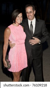 NEW YORK - APRIL 27: Jerry and Jessica Seinfeld attend Vanity Fair Party at Tribeca Film Festival at State Supreme Courthouse on April 27, 2011 in New York City