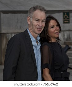NEW YORK - APRIL 27: John McEnroe and wife attend Vanity Fair Party at Tribeca Film Festival at State Supreme Courthouse on April 27, 2011 in New York City