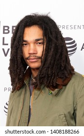 "NEW YORK, NEW YORK - APRIL 27: Luka Sabbat attends ""Gully"" screening at 2019 Tribeca Film Festival at SVA Theater on April 27, 2019 in New York City."