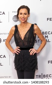 """NEW YORK, NEW YORK - APRIL 27: Minnie Driver attends """"Gully"""" screening at 2019 Tribeca Film Festival at SVA Theater on April 27, 2019 in New York City."""