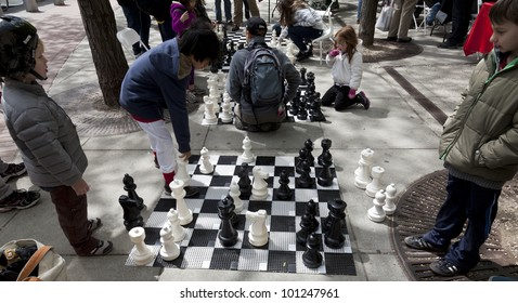 Chess On Street Images, Stock Photos & Vectors | Shutterstock