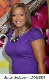 """NEW YORK - AUG 10: Sunny Anderson attends the premiere of """"Eat Pray Love"""" at the Ziegfeld Theater on August 10, 2010 in New York City."""