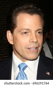 NEW YORK - AUG 14, 2017:  Anthony Scaramucci is seen on August 14, 2017, in New York City.
