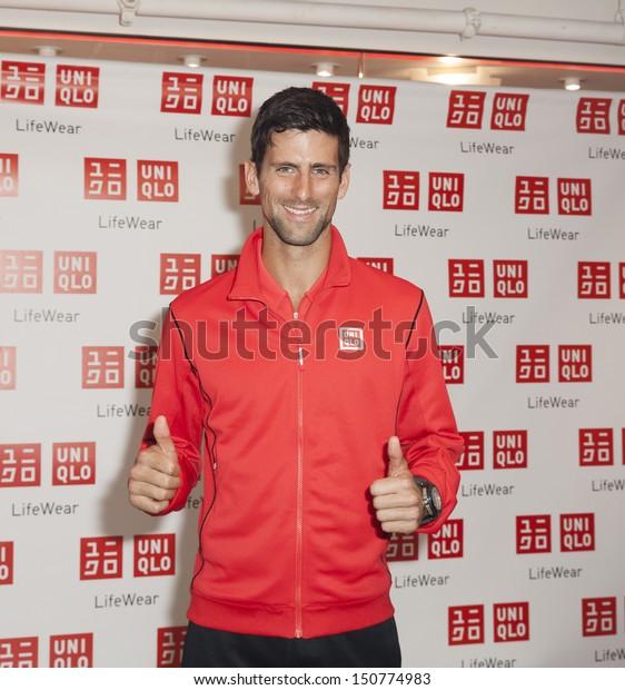New York August 19 Novak Djokovic Stock Photo Edit Now 150774983