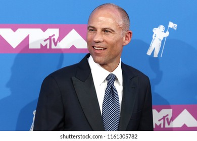 NEW YORK - AUGUST 20, 2018: Michael Avenatti attends the MTV Video Music Awards at Radio City Music Hall on August 20, 2018, in New York.