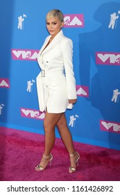 NEW YORK - AUGUST 20, 2018: Kylie Jenner attends the MTV Video Music Awards at Radio City Music Hall on August 20, 2018, in New York.