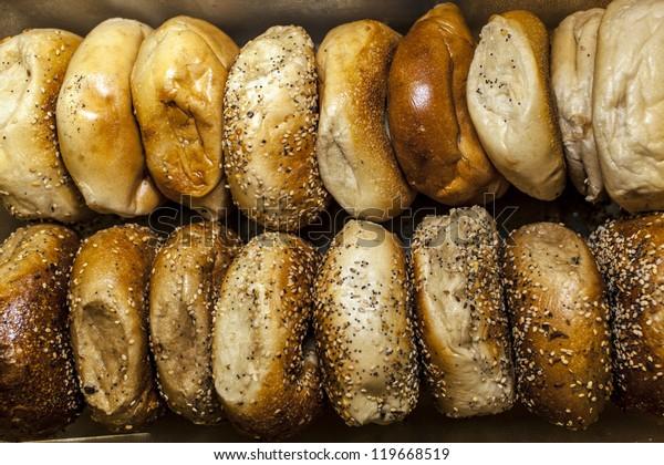 New York Bagels in original package