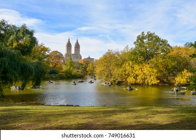 New York Central Park - View of the building San Remo