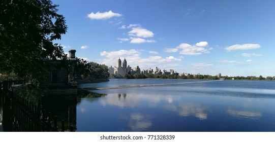 New York Central park view panorama