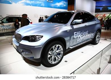 NEW YORK CITY   APRIL 10 : A BMW Model On Display At NY International Auto