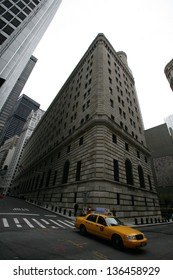 NEW YORK CITY - APRIL 19: The United States Federal Reserve Bank in New York City, on Friday, April 19, 2013.
