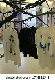 New York City, New York - April 2014: HBA exhibition store sells products