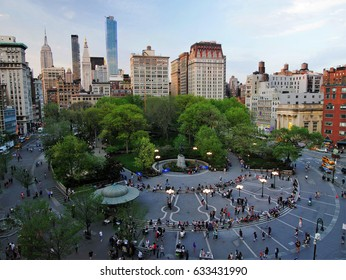New York City - April 29 2017. Union Square New York City