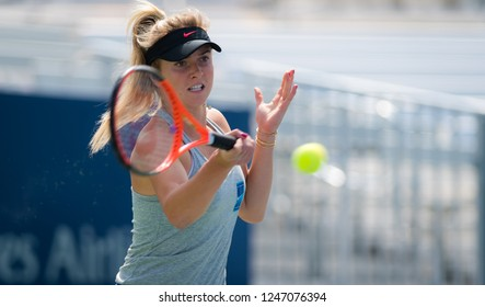 NEW YORK CITY,  - AUGUST 27 : Elina Svitolina of the Ukraine at the 2017 US Open Grand Slam tennis tournament