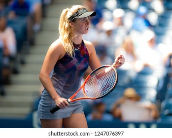 NEW YORK CITY,  - AUGUST 31 : Elina Svitolina of the Ukraine at the 2017 US Open Grand Slam tennis tournament