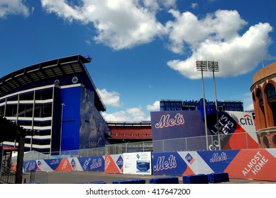 New York City - August 4, 2007:  Shea Stadium, former home of the New York Mets baseball team in Flushing (Queens)