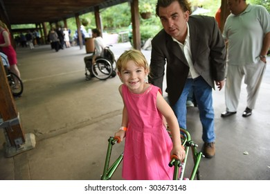 NEW YORK CITY - AUGUST 5 2015: the 2015 Sapolin Awards were given out during a banquet at The Bronx Zoo on the 25th anniversary of the ADA.