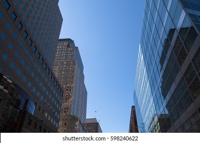 New York City - Cityscape of Lower Manhattan
