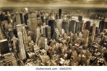 new york city  - downtown manhattan