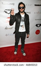 NEW YORK CITY - FEBRUARY 16 : Pete Wentz attends Clandestine Industries by Pete Wentz's afterparty  on February 16, 2010 in NYC.