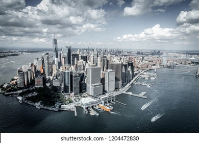 New York City - Helicopter view