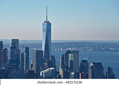 New York City, Jan 20, 2016: New York City skyline