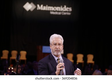 NEW YORK CITY - JANUARY 27 2015: Maimonides Medical Center's annual gala at the Waldorf-Astoria honored outgoing CEO Pam Brier. Incoming Maimonides CEO Kenneth Gibbs