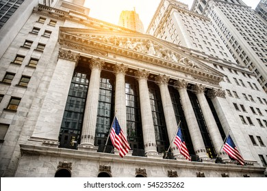 NEW YORK CITY - July 28: The New york Stock Exchange July 28, 2016 in New York, NY. It is the largest stock exchange in the world by market capitalization and most powerful global financial institute.