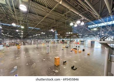New York City - June 16, 2017: Jacob K. Javits Convention Center in New York City.