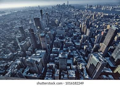 New York City of lights