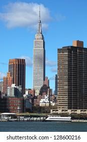New York City Manhattan cityscape