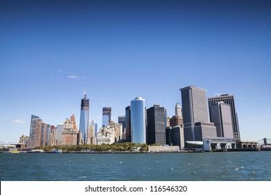 New York City - Manhattan from ferry