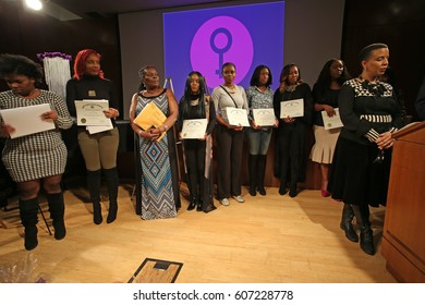NEW YORK CITY - MARCH 17 2017: NY City Council Members Jumaane Williams & Laurie Cumbo presided over an evening of Shirley Chisholm Women of Distinction Awards