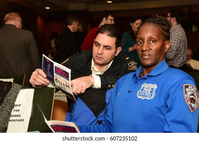 NEW YORK CITY - MARCH 17 2017: NY City Council Members Jumaane Williams & Laurie Cumbo presided over Shirley Chisholm Women of Distinction Awards. Ronette Benjamin