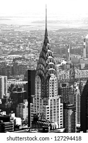NEW YORK CITY - MARCH 24: The Chrysler building was the world's tallest building (319 m) before it was surpassed by the Empire State Building in 1931, on March 24, 2012 in Manhattan, New York City.