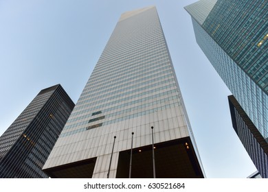 New York City - March 24, 2017: The Citigroup Center (formerly Citicorp Center and now known as its address, 601 Lexington Avenue) office tower in New York City in midtown Manhattan.