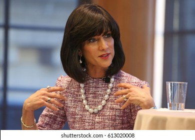 NEW YORK CITY - MARCH 29 2017: Rachel Freier, judge in Brooklyn's 5th District, the first Hasidic woman to win elective office in the US, was honored at Brooklyn Law. Judge Freier takes questions